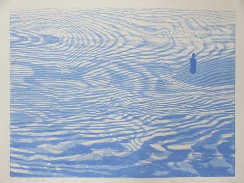Bilde av Ut i det blå av Trine Lindheim