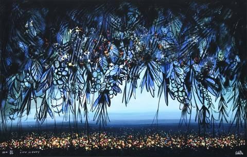 Bilde av City Lights av Gunilla Holm Platou