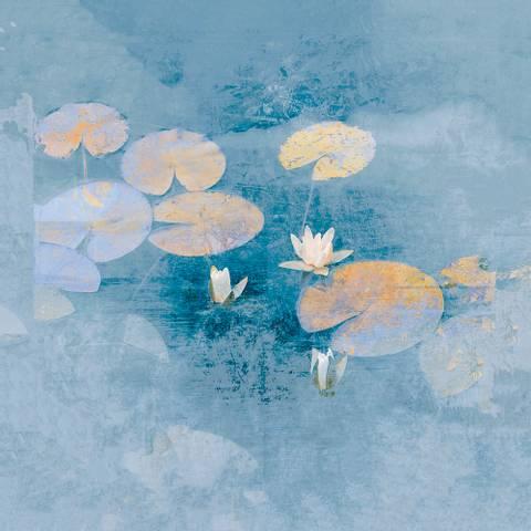 Bilde av Lily Impression av Maria Natalie Skjeset m/ ramme