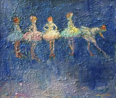 Bilde av Danseklassen av Dang Van Ty