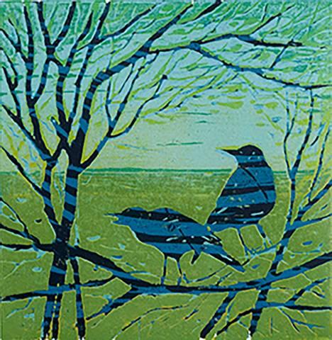 Bilde av Vårtegn av Jane Hupe