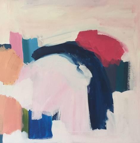 Bilde av Fryd, maleri av Eline Smith