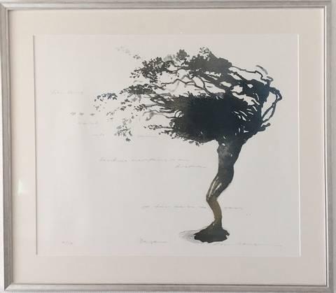 Bilde av Daphne av Runi Langum med ramme
