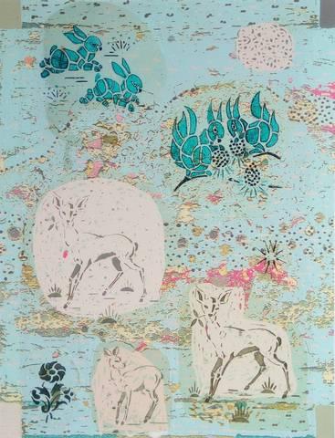 Bilde av Rådyr, ekorn og hare av Mona Grini