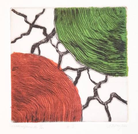 Bilde av #5 (rød/grønn) av Marianne Boberg