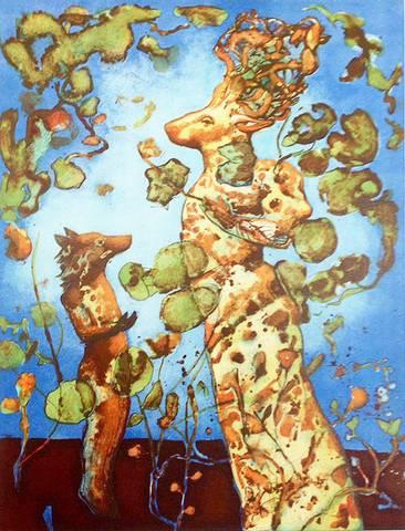 Bilde av Mytisk mester av Kikki Hovland